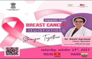 Health Talkshow on Breast Cancer Awareness (23rd October, 2021)